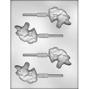 Unicorn Lollipop Chocolate Candy Mold 2 1 / 2 Inch