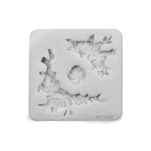 Flower Corners Silicone Fondant Mold