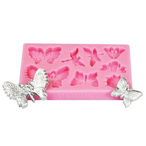 Butterfly & Dragonfly Silicone Fondant Mold