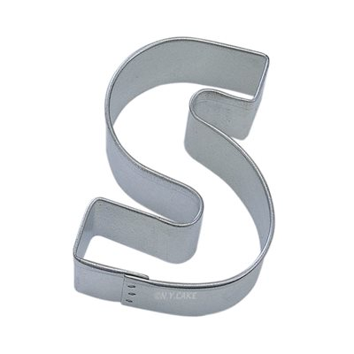 alphabet letter s cookie cutter 2 3 4 inch With 4 inch letter cookie cutters