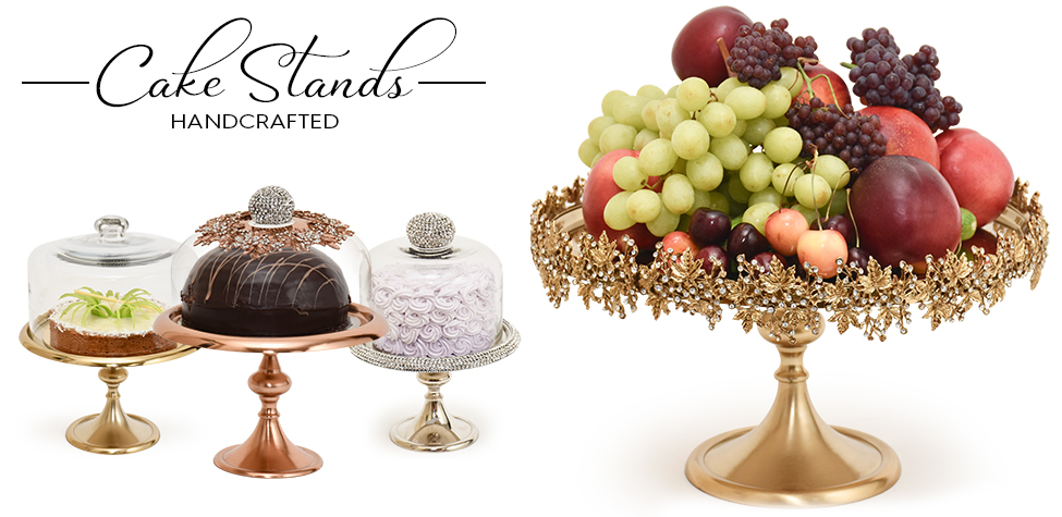 high end elegent cake stands from nycake